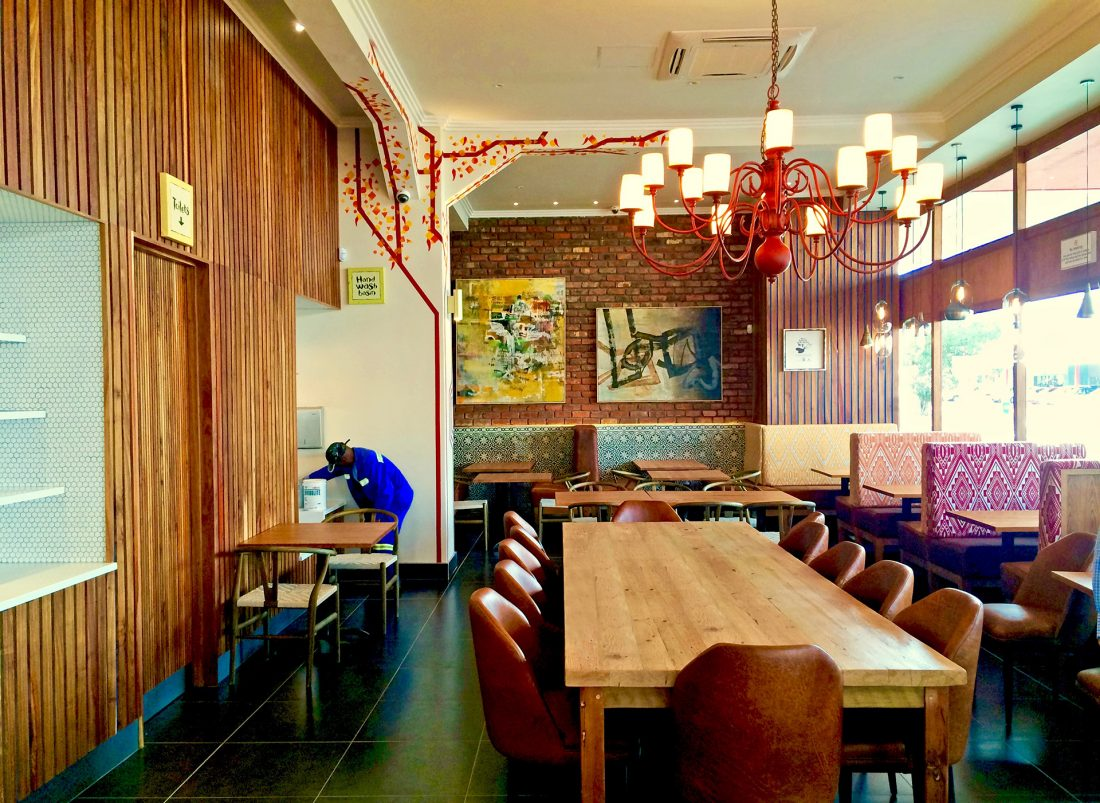 Nando's, Parow by CODE / Collaborative Design